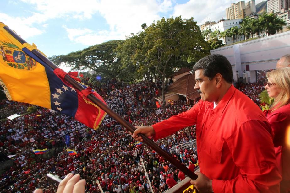 Le Canada a accusé Nicolas Maduro de s'être... (PHOTO REUTERS)
