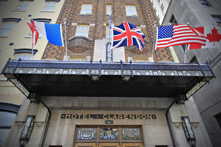 L'hôtel, qui a été inauguré en 1870, a... (ARCHIVES LE SOLEIL)