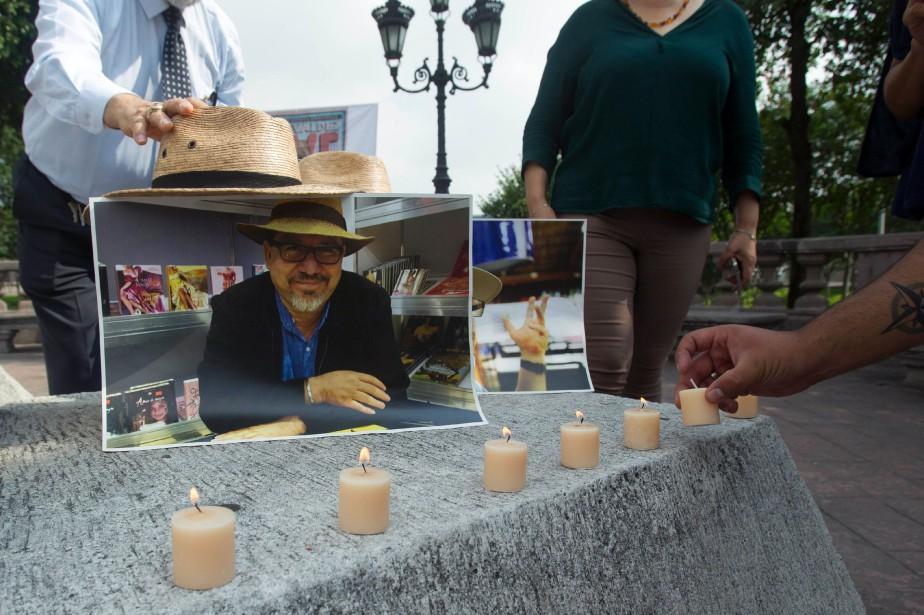 Le journaliste mexicain Javier Valdez, un spécialiste des... (Photo JULIO CESAR AGUILAR, archives AFP)