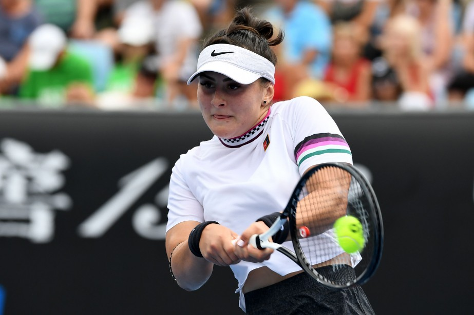 Bianca Andreescu... (ARCHIVES AFP)