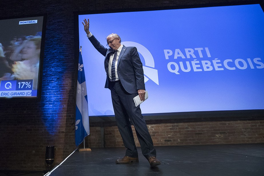 Le Parti québécois (PQ) a été réduit de... (Photo Ivanoh Demers, archives La Presse)