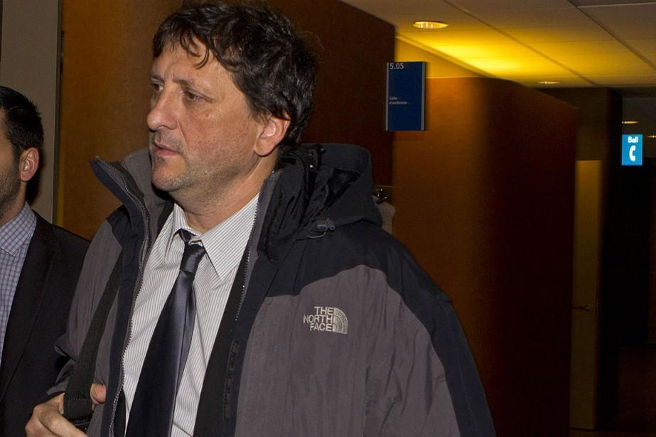 Giovanni d'Amico, au palais de justice de Montréal,... (Photo Benedicte Millaud, archives La Presse)