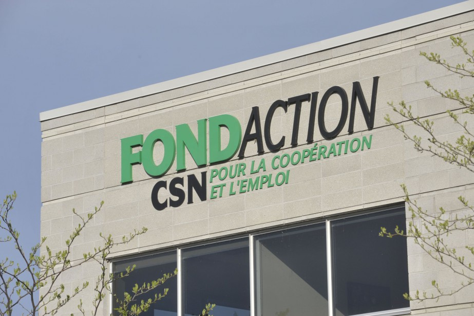 Édifice de Fondaction à Montréal.... (Photo Louise Leblanc, FONDACTION)