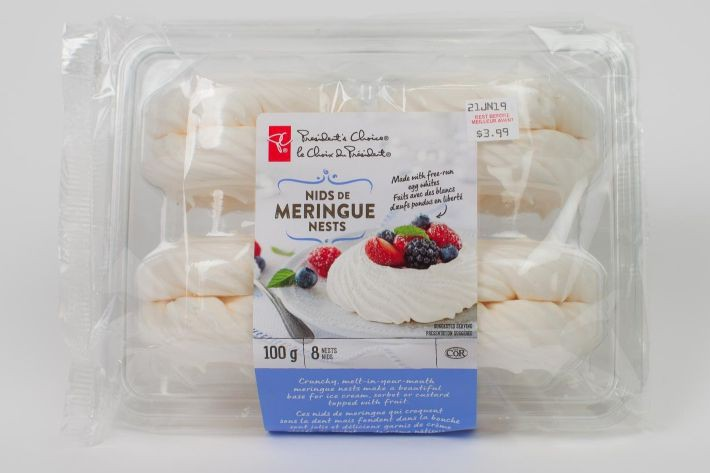 Ces meringues PC ne contiennent que deux ingrédients,... (PHOTO OLIVIER PONTBRIAND, La Presse)