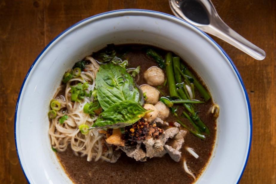 Une soupe de Mae Sri... (Photo Marco Campanozzi, La Presse)