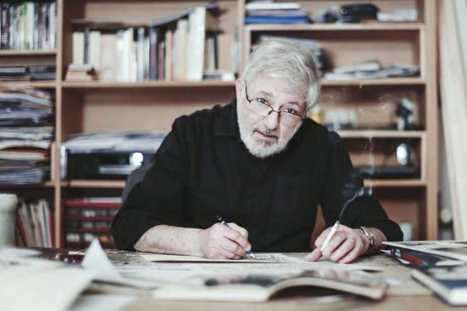 Le bédéiste Jacques Tardi a conclu sa trilogie... (Photo fournie parCasterman)