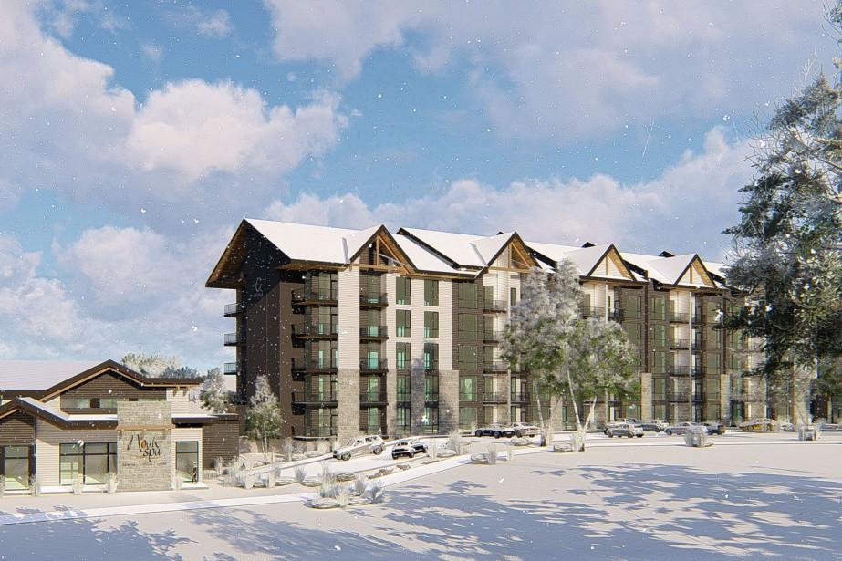 Un nouvel hôtel sera construit au pied... (Image fournie par Anne Paquet Design)