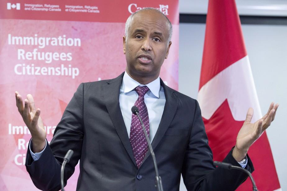 Le ministre de l'Immigration, Ahmed Hussen.... (PHOTO PC)