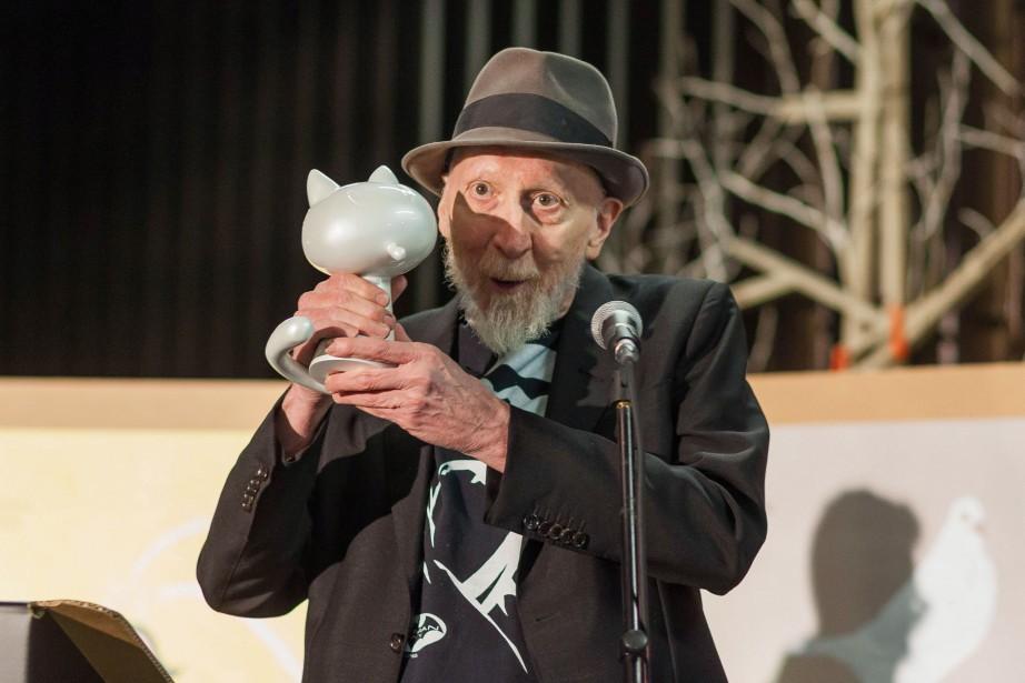 Frank Miller a été récompensé par un Fauve... (Photo YOHAN BONNET, AFP)