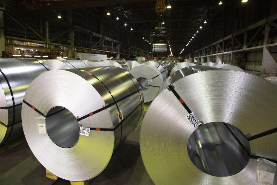 Les fabricants américains dépendent des importations de partenaires... (Photo Peter Power, archives La Presse canadienne)