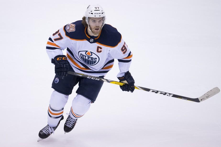 Connor McDavid a participé à 52% des buts... (Photo JONATHAN HAYWARD, La Presse canadienne)