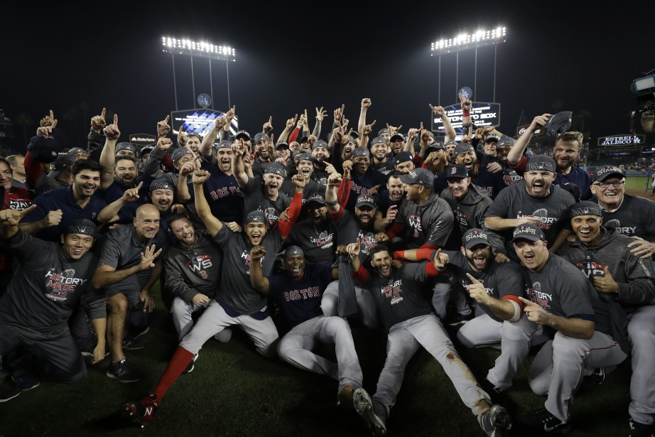 Les Red Sox de Boston ont remporté la... (Photo David J. Phillip, archives Associated Press)