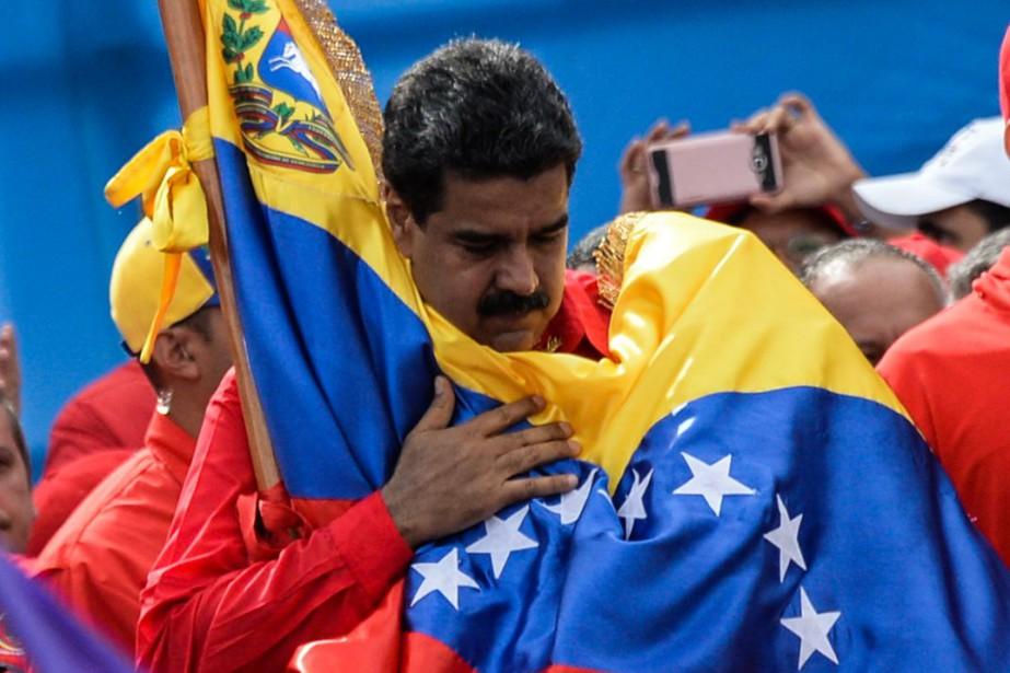 Le président du Vénézuela, Nicolas Maduro.... (Photo FEDERICO PARRA, archives AFP)
