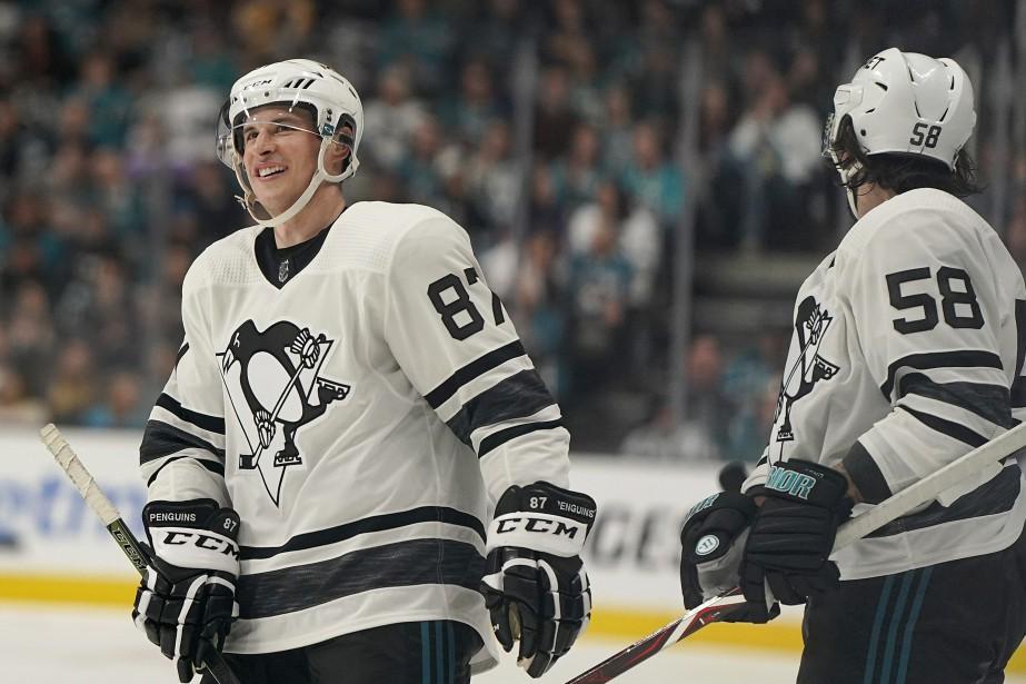 Sidney Crosby et Kristopher Letang.... (Photo Tony Avelar, Associated Press)