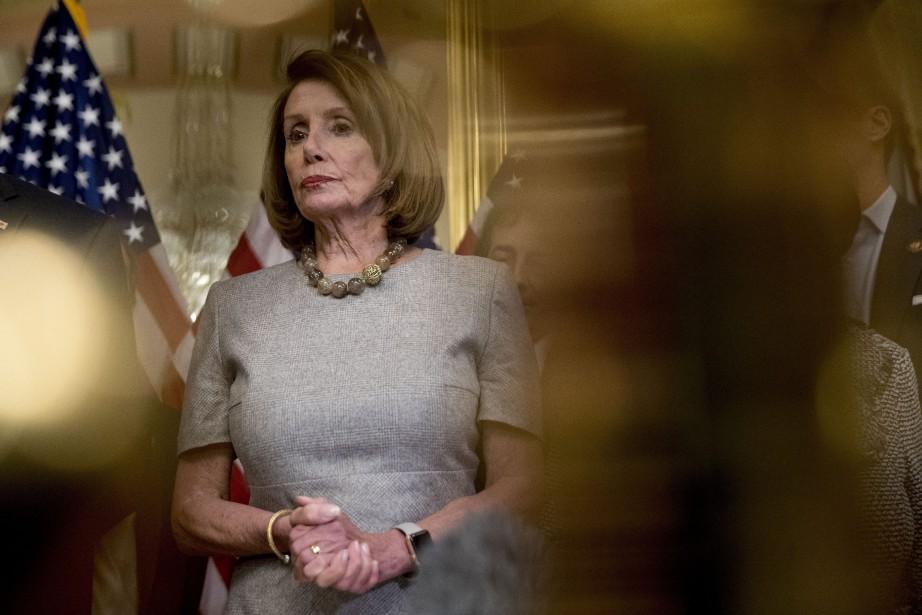 La présidente démocrate de la Chambre des représentants,... (Photo Andrew Harnik, AP)