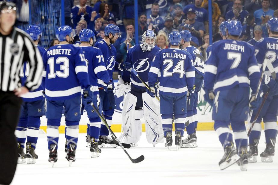 Le Lightning est la meilleure équipe du circuit... (Photo KimKlement, USA TODAY Sports)