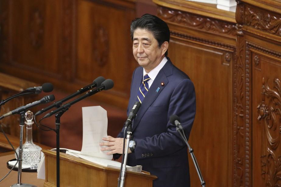 «Je vais agir résolument, en saisissant chaque occasion... (Photo Koji Sasahara, AP)