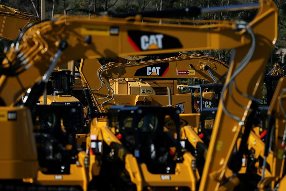 À Wall Street, le titre de Caterpillar était... (Photo Mike Blake, REUTERS)