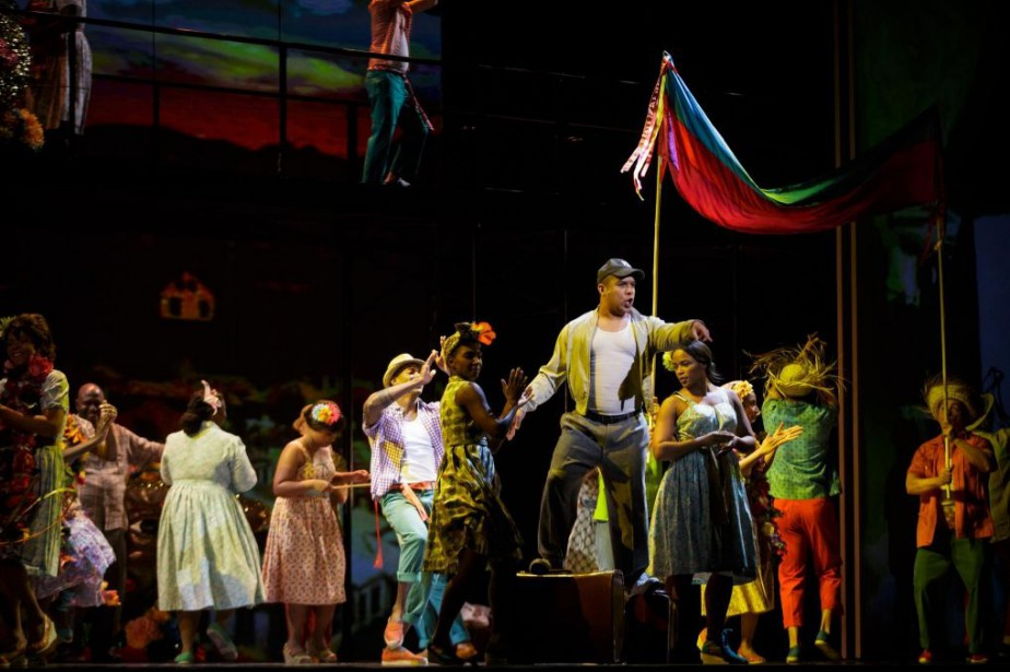 L'opéra Champion, àla salle Wilfrid-Pelletier de la Place... (Photo Olivier Jean, La Presse)