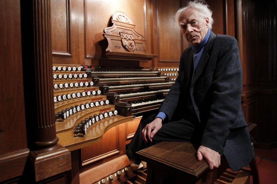L'organiste et compositeur français Jean Guillou... (Photo FRANCOIS GUILLOT, archives AFP)