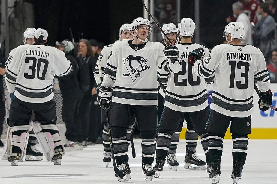 Sidney Crosby a mérité le titre de joueur... (Photo Tony Avelar, Associated Press)