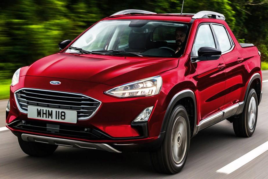 Le pickup compact de Ford serait plus petit que le... | 2019-01-28 00:00:00.000