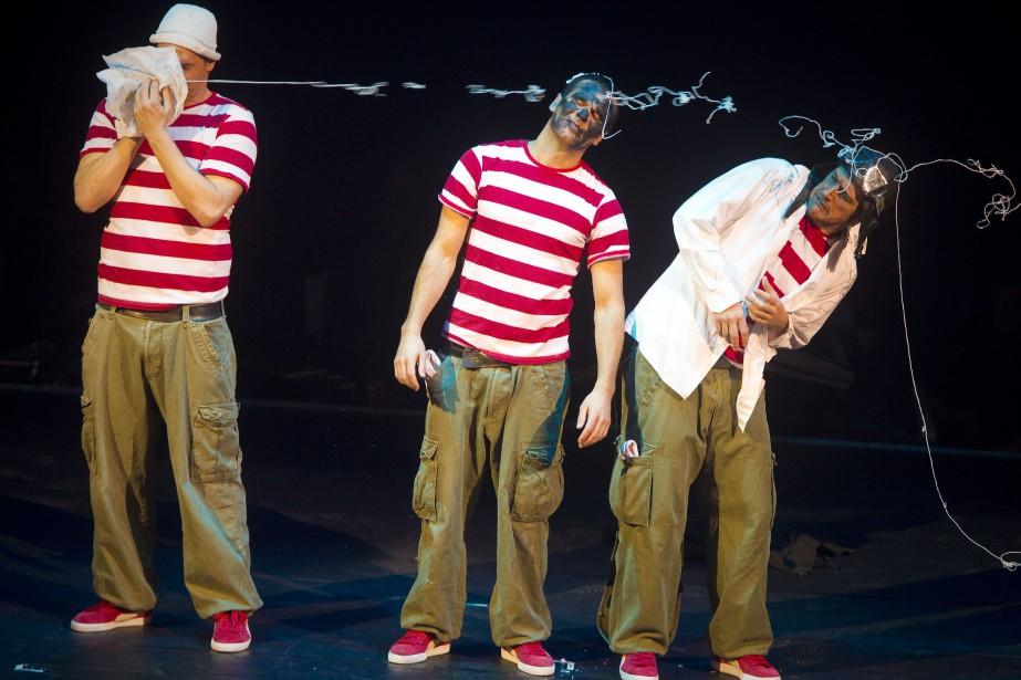 Un numéro du Festival du cirque de demain.... (Photo André Pichette, archives La Presse)