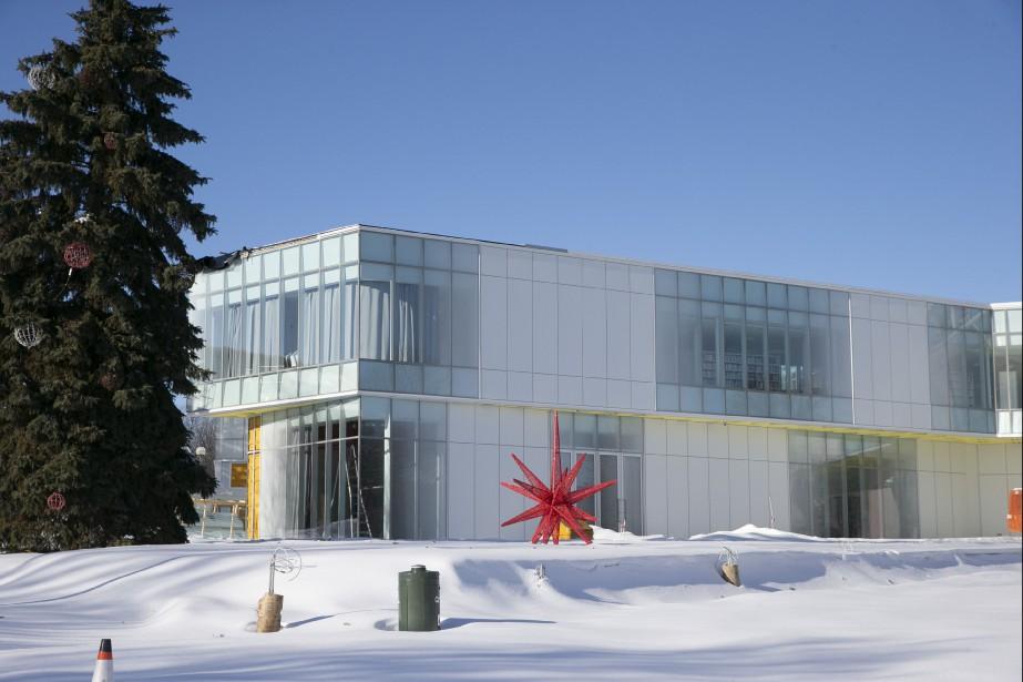 La bibliothèque de Pierrefonds... (Photo David Boily La Presse)