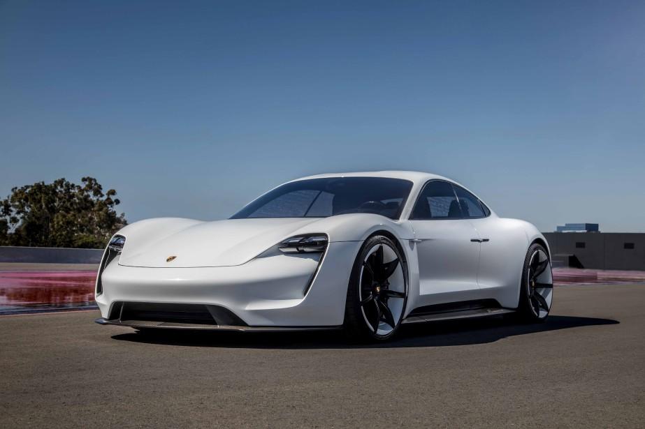 Porsche Taycan... (Photo Porsche)