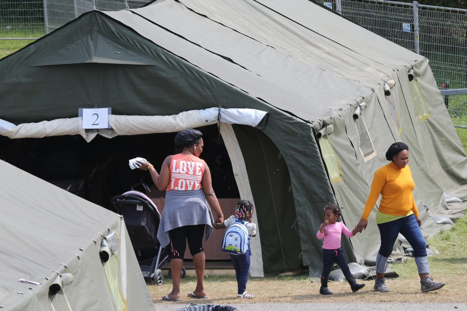 L'afflux de migrants en situation irrégulière au Canada... (PHOTO MARTIN TREMBLAY, ARCHIVES LA PRESSE)