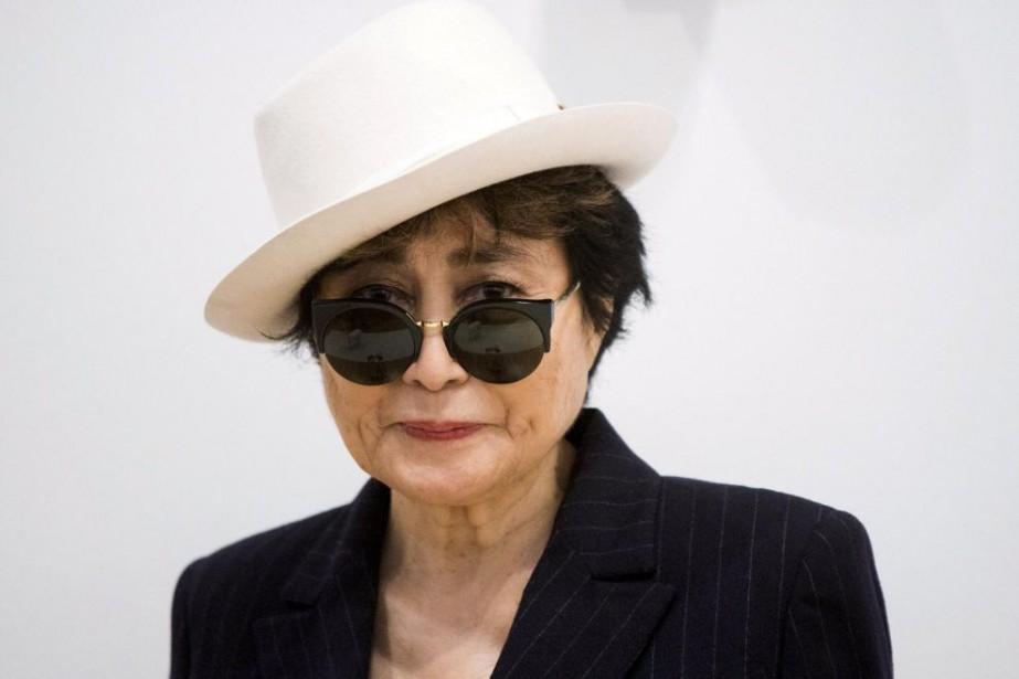 L'artiste Yoko Ono présentera l'expositionLiberté conquérante/Growing Freedom à... (PHOTO LUCAS JACKSON, ARCHIVES REUTERS)