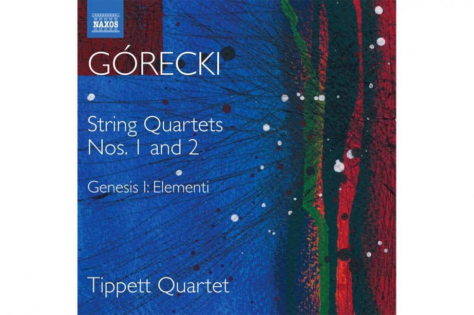 Górecki String Quartets Nos 1 and 2, Genesis... (Image fournie par Naxos)