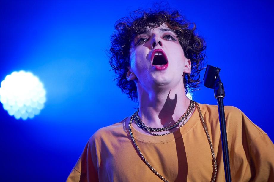Le chanteur Hubert Lenoir a récolté trois nominations... (Photo André Pichette, archives La Presse)