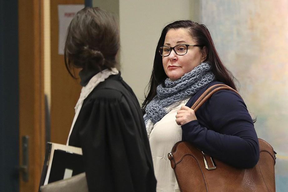 Adèle Sorella, au palais de justice de Laval,... (Photo Robert Skinner, archives La Presse)