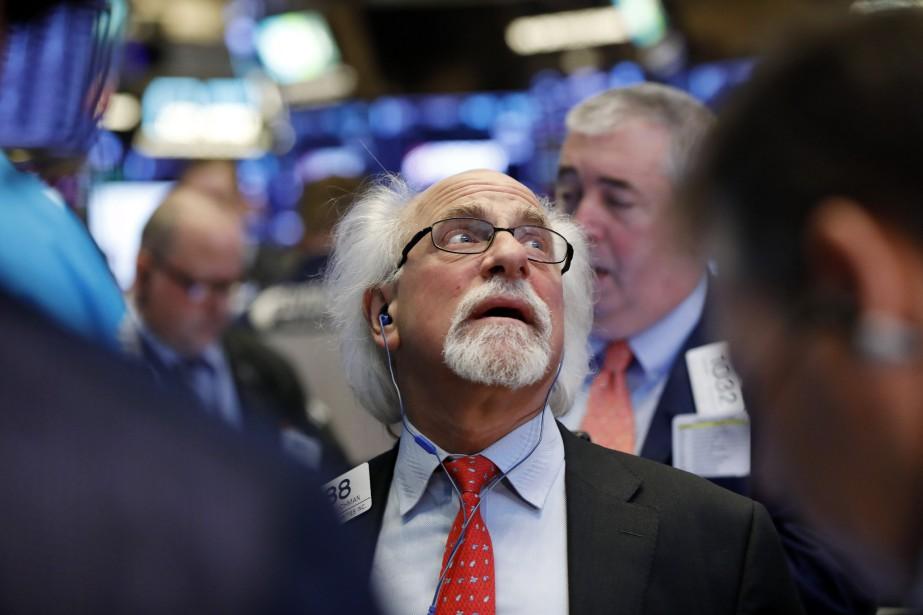 Le Dow Jones gagnait 0,04% et le NASDAQ... (Photo Richard Drew, AP)
