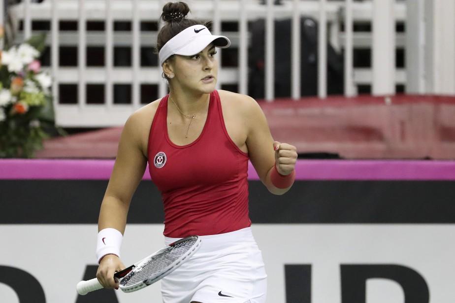 Bianca Andreescu a remporté un premier titre de... (Photo Robert Skinner, archives La Presse)