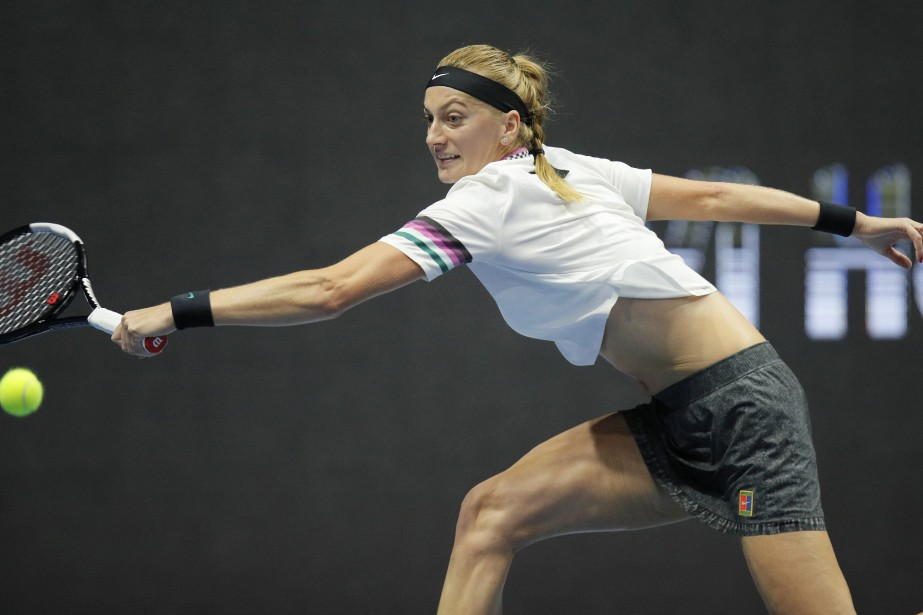 Petra Kvitova.... (PHOTO DMITRI LOVETSKY, AP)