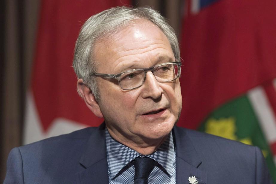 Le premier ministre Blaine Higgs.... (Photo Graham Hughes, archives La Presse canadienne)