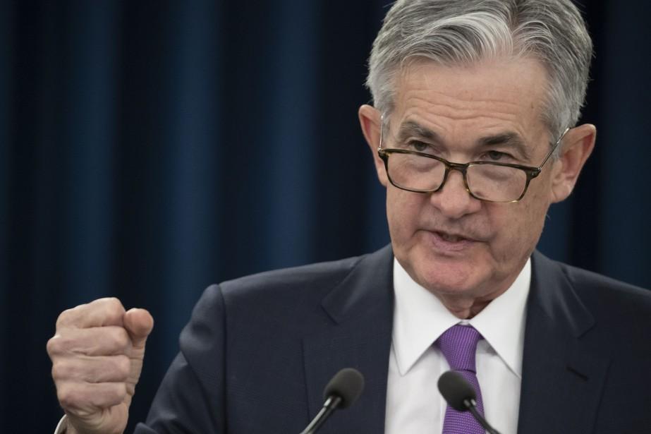 Jerome Powell, président de la Banque centrale américaine.... (Photo Alex Brandon, Associated Press)
