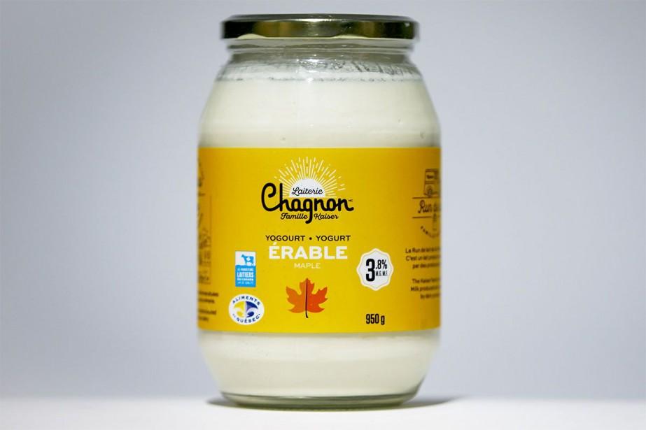 Ce yogourt à l'érable produit à Waterloo, au... (Photo Olivier Jean, La Presse)