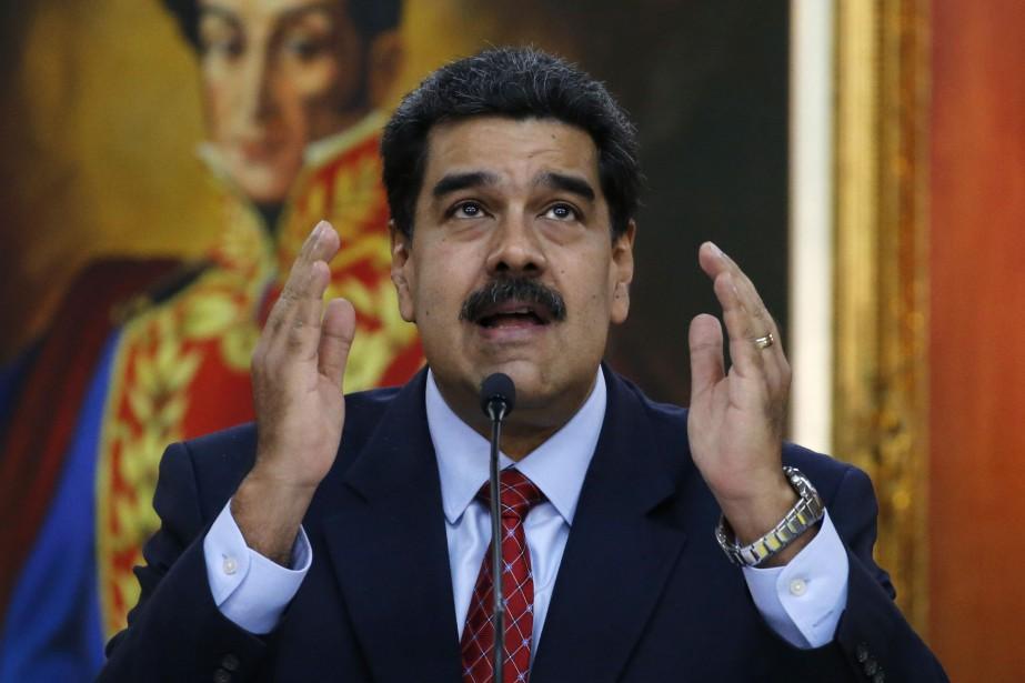 Nicolas Maduro... (Photo Ariana Cubillos, Associated Press)