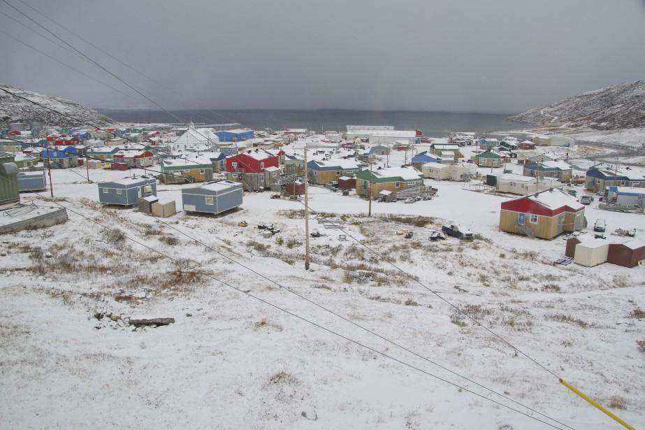 Salluit est situé à l'extrême-nord du Québec. Selon... (Photothèque La Presse)