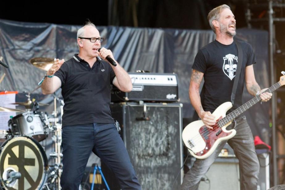 Greg Graffin et Jay Bentley de Bad Religion... (Photo Olivier Jean, archives La Presse)