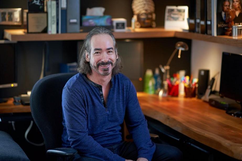 Jacques Diamant, auteur de la série Les honorables... (Photo AndréPichette, La Presse)