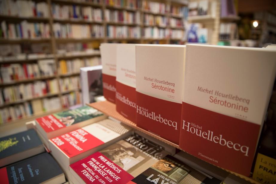 Les ventes de livres ont baissé en 2018... (Photo THOMAS SAMSON, archives AFP)