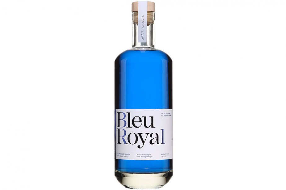 BleuRoyal Gin... (Photo fournie par la SAQ)