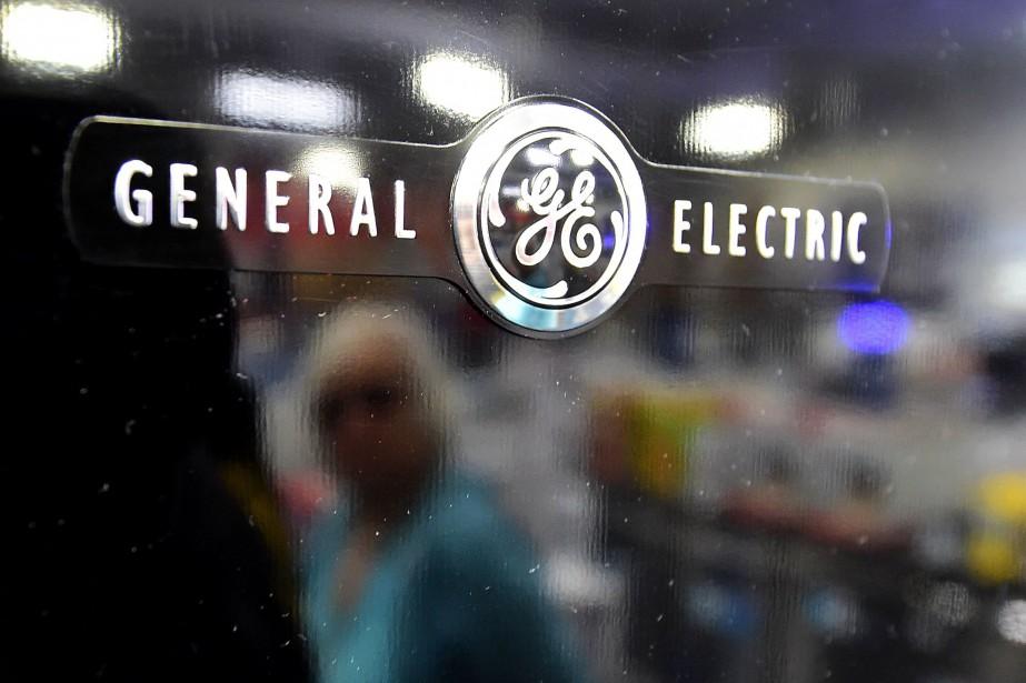 General Electric (GE) a annoncé jeudi être... (Photo FREDERIC J. BROWN, AFP)