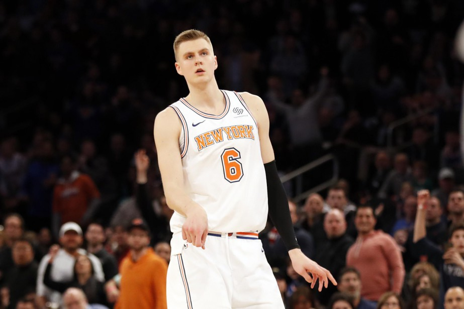 Kristaps Porzingis... (PHOTO REUTERS)