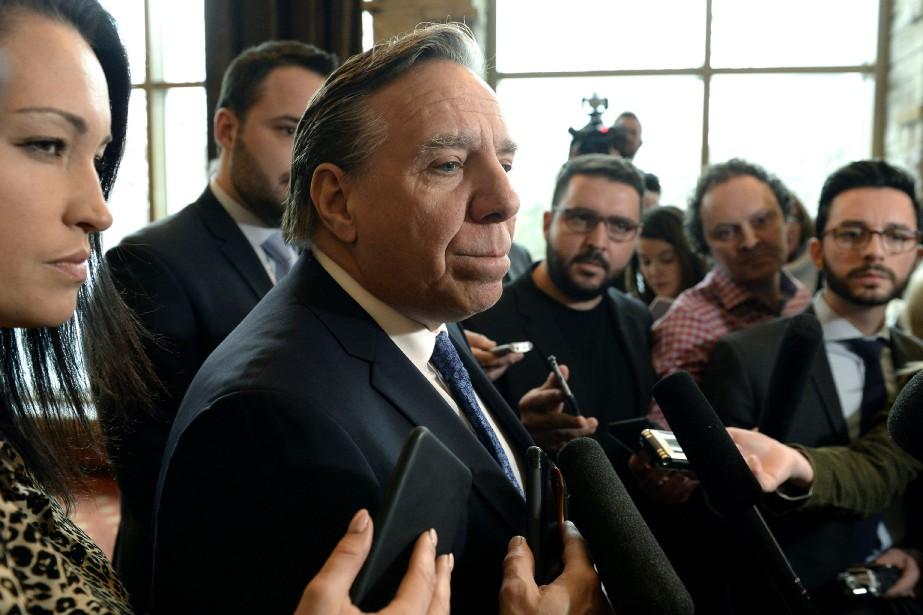 François Legault a dit que les économies permettraient... (Photo Justin Tang, La Presse canadienne)
