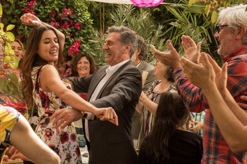 Adriana Ugarte et DanielAuteuil dansAmoureux de ma femme... (Photo fournie par Les Films Opale)